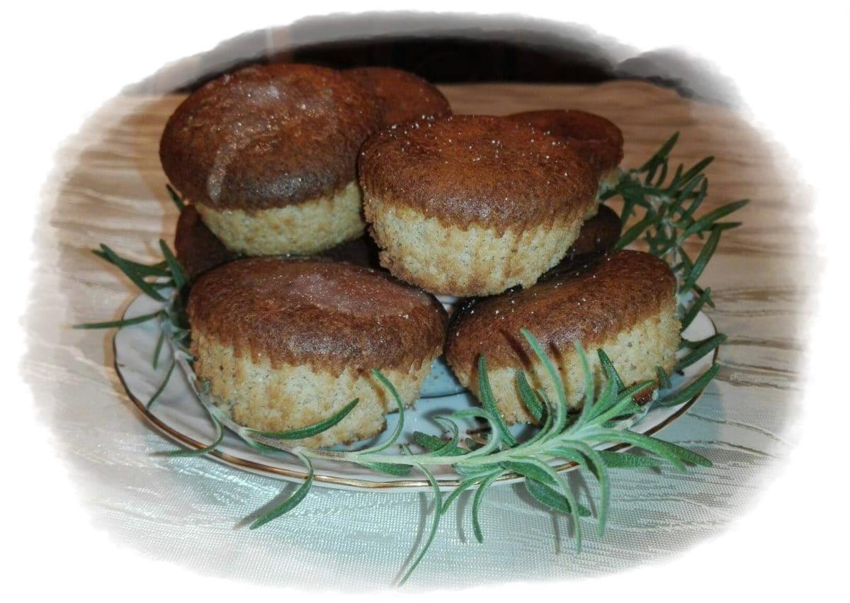 Muffinki z mąki arachidowej
